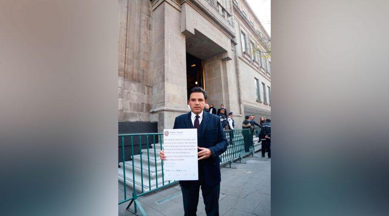 Estados Unidos intenta imponer a México la Ley 'Trump' de Seguridad: Zoé Robledo