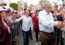 """López Obrador reta a Anaya y Meade a unirse contra él; """"ni así nos ganan"""", dice"""