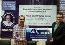 """Poemario """"Viacrucis"""" ganador del Premio Internacional de Poesía Jaime Sabines 2018"""
