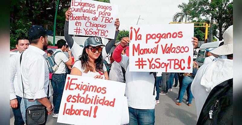 200 millones de pesos adeuda el gobierno estatal a 690 docentes desde el año pasado