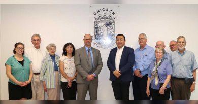 Afianza UNICACH cooperación con Universidad de Estados Unidos