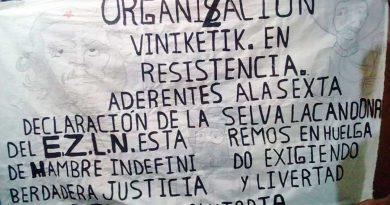 Seis indígenas inician huelga de hambre en tres penales de Chiapas