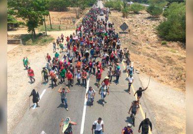 AMLO dice mantener su política migratoria pese a redada en Chiapas