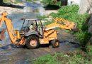 Ayuntamiento de Tuxtla realiza trabajo permanente de desazolve del rio Sabinal