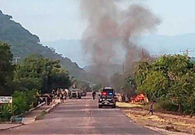 Mueren 13 policías en emboscada, reporta fiscalía de Michoacán